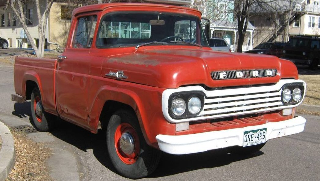 Tonka Truck 1959 Ford F100 Shortbed