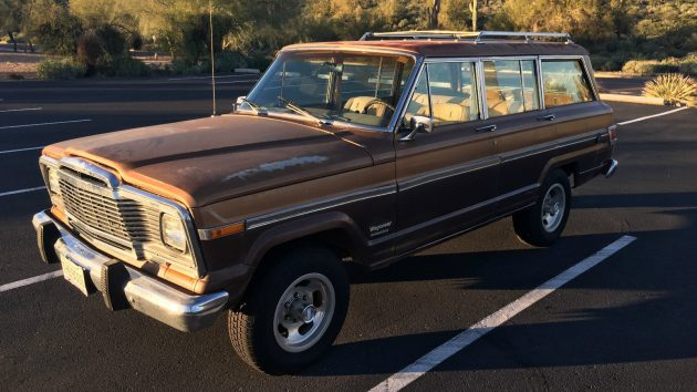 A family 4WD- 1979 Jeep Wagoneer