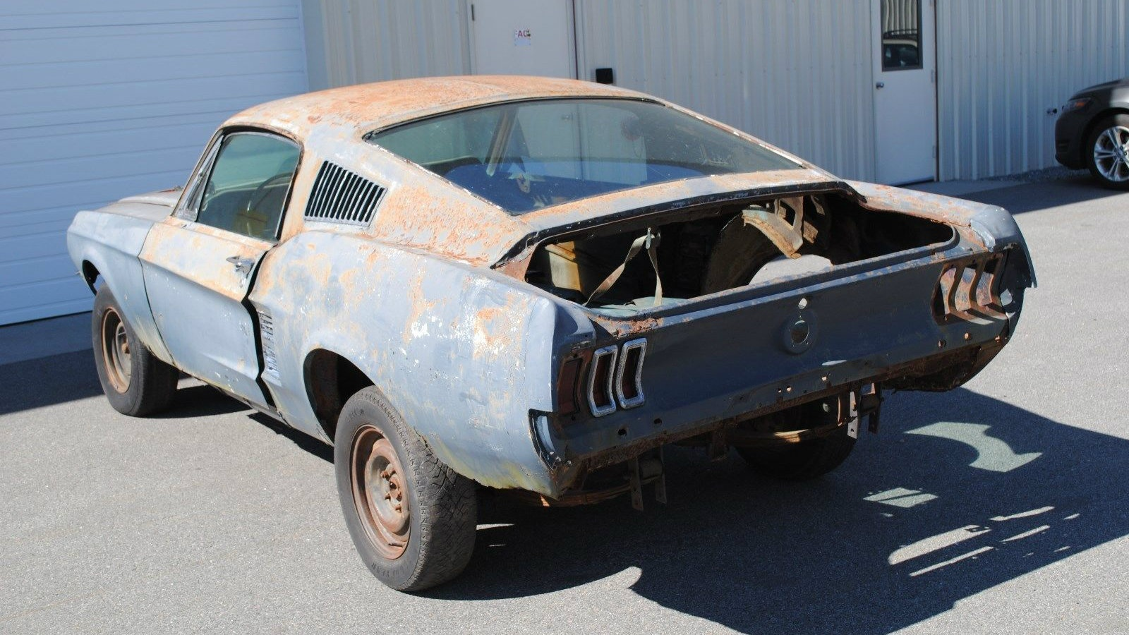 Pushes & Steers: 1967 Ford Mustang