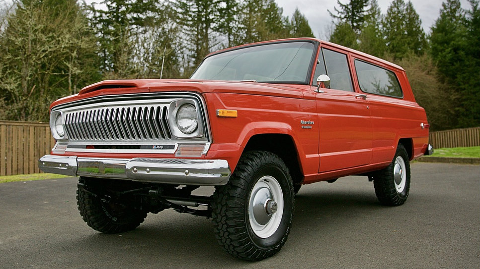 What Was It Used For 1974 Jeep Cherokee