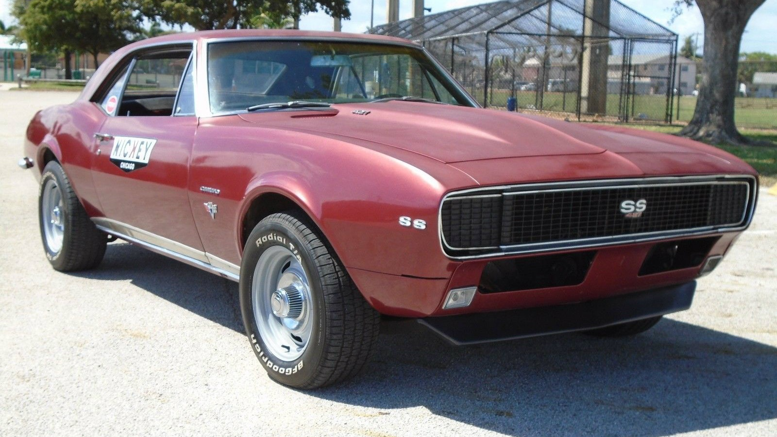 not a nickey 1967 chevrolet camaro ss rs 427. Black Bedroom Furniture Sets. Home Design Ideas