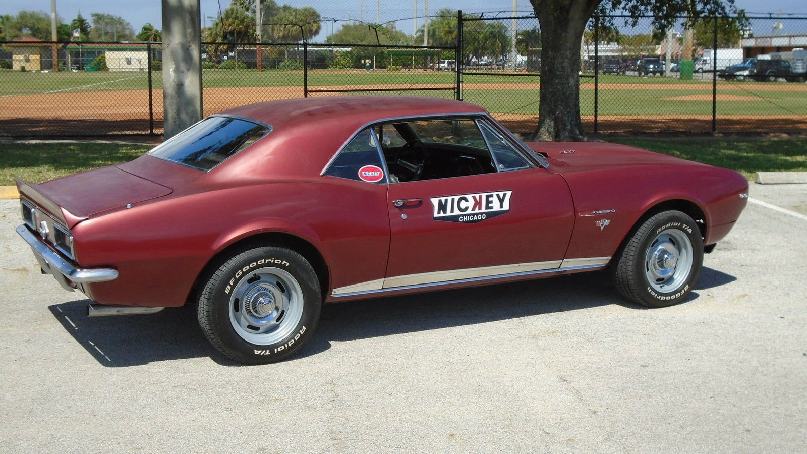 Not A Nickey 1967 Chevrolet Camaro Ss Rs 427