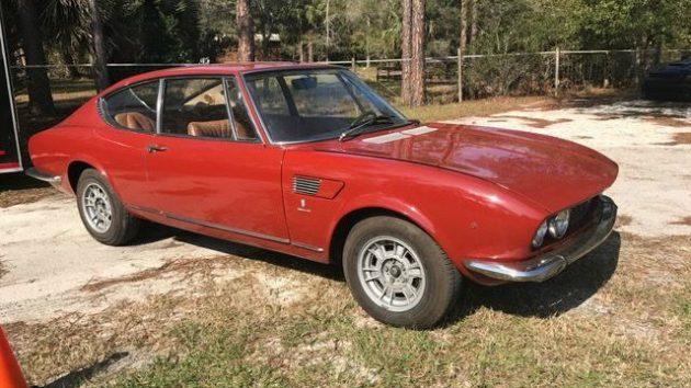 Ferrari Engined: 1968 Fiat Dino  Coupe