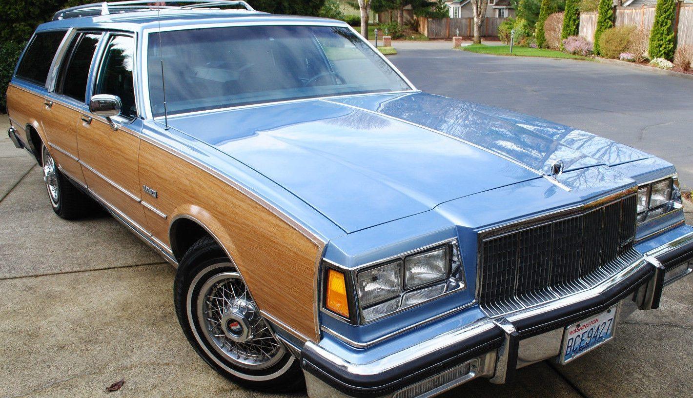 W E on Buick Lesabre Wagon