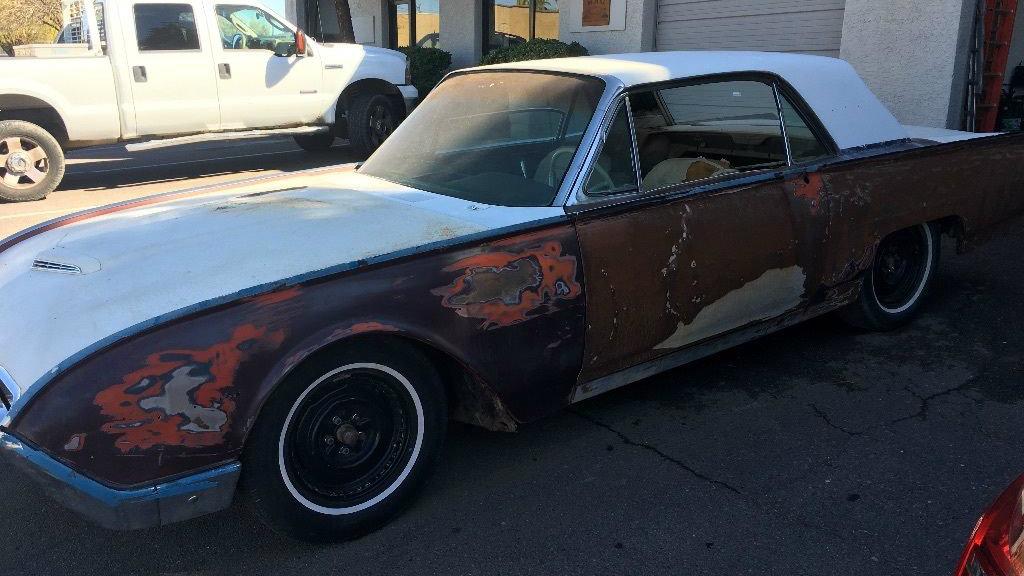 Unfinished Arizona Project: 1962 Ford Thunderbird
