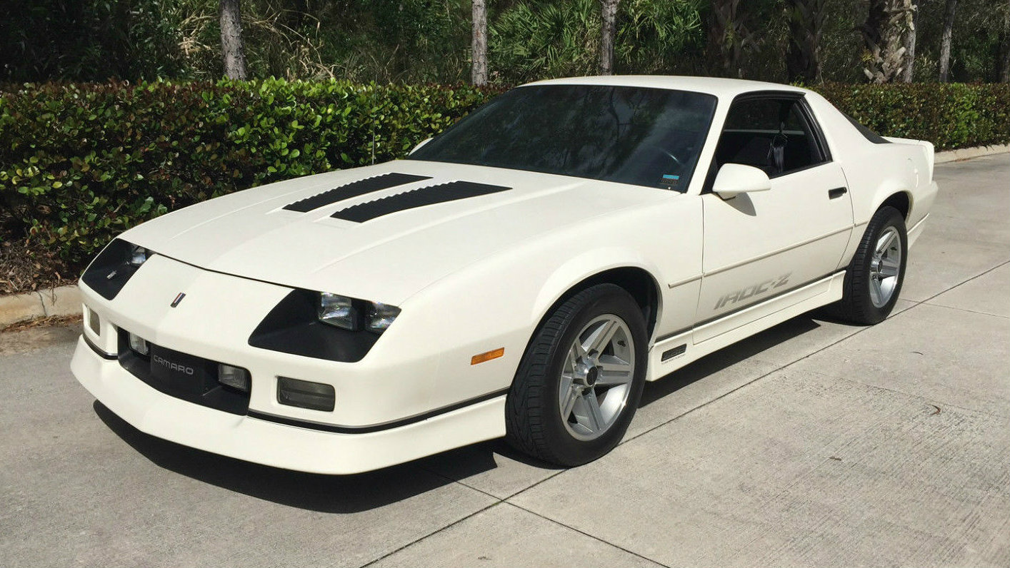 Nicest Around 8 358 Mile 1986 Camaro Iroc Z