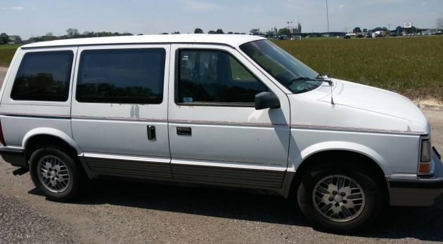 Turbo Van! 1990 Dodge Caravan