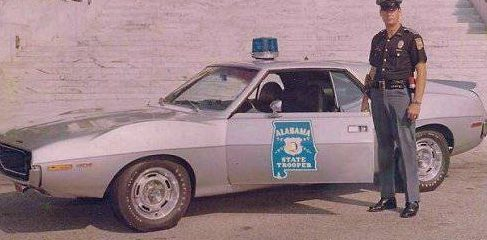 Police Decals   Alabama Highway Patrol Decal