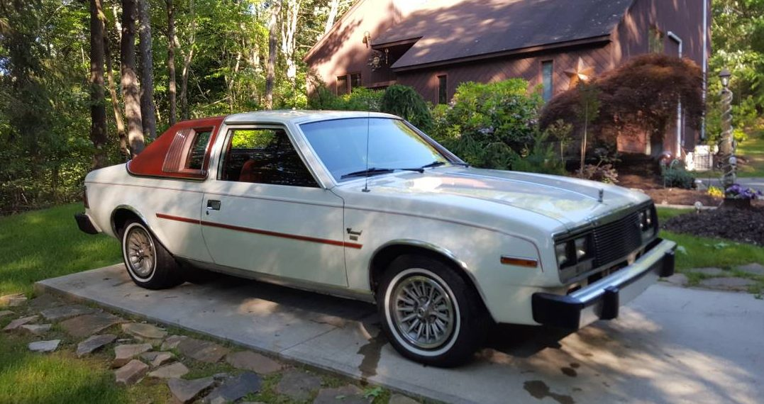 Time Capsule Coupe 1980 Amc Concord