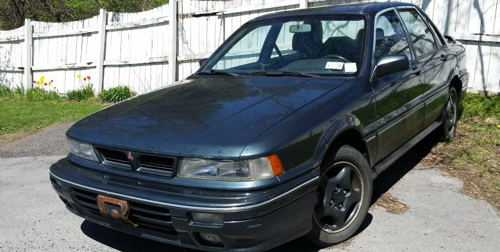 Pre-EVO: 1992 Mitsubishi Galant VR4