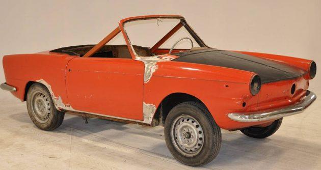 1 of 1 in North America: Fiat Riviera 750