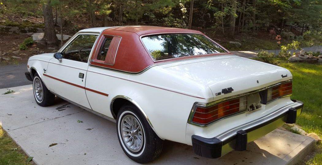 Time Capsule Coupe  1980 Amc Concord