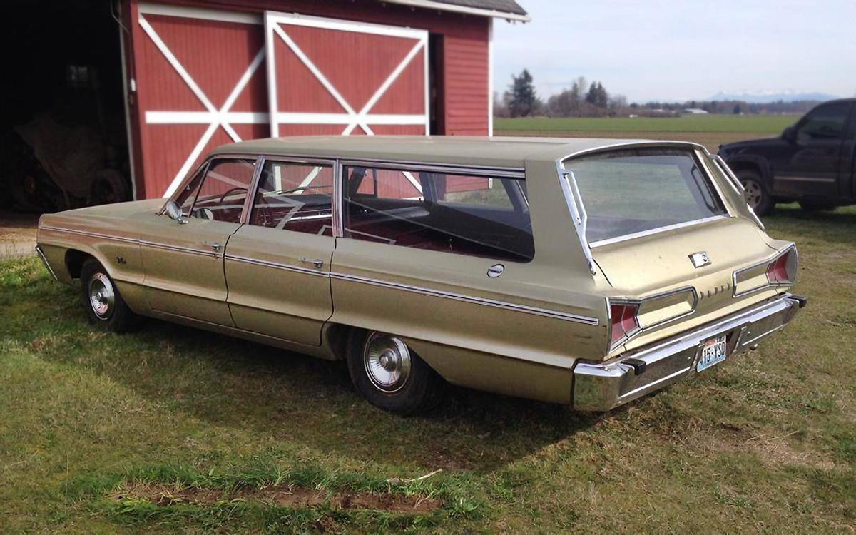 Half Price 1966 Dodge Polara Wagon