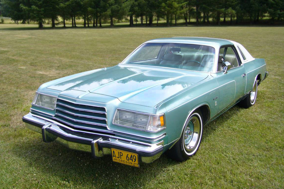 Mint Green Goodness 1979 Dodge Magnum Xe