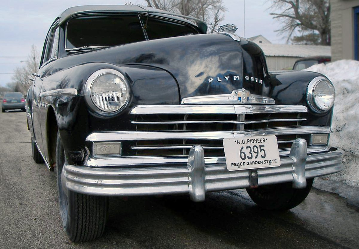 Hat Friendly 1949 Plymouth Special Deluxe