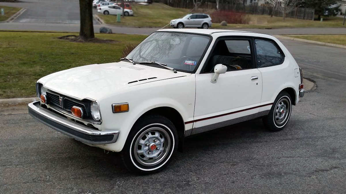 Jewel Box Potential 1973 Honda Civic 1970 Hatchback