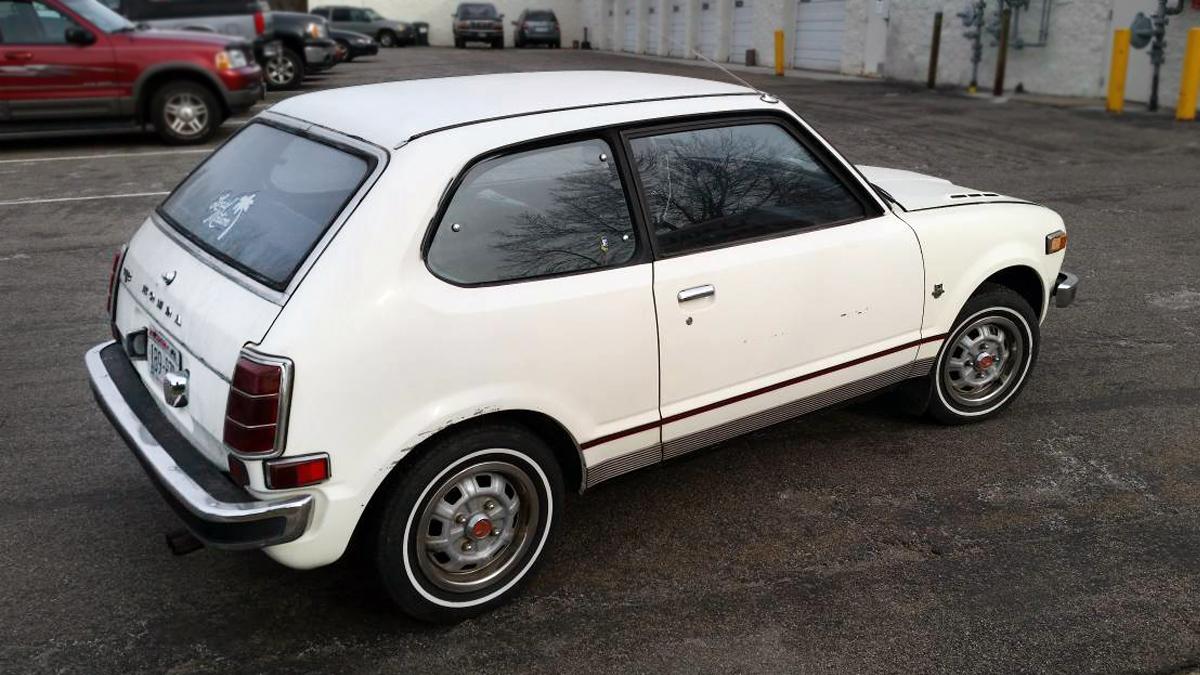 Jewel Box Potential? 1973 Honda Civic