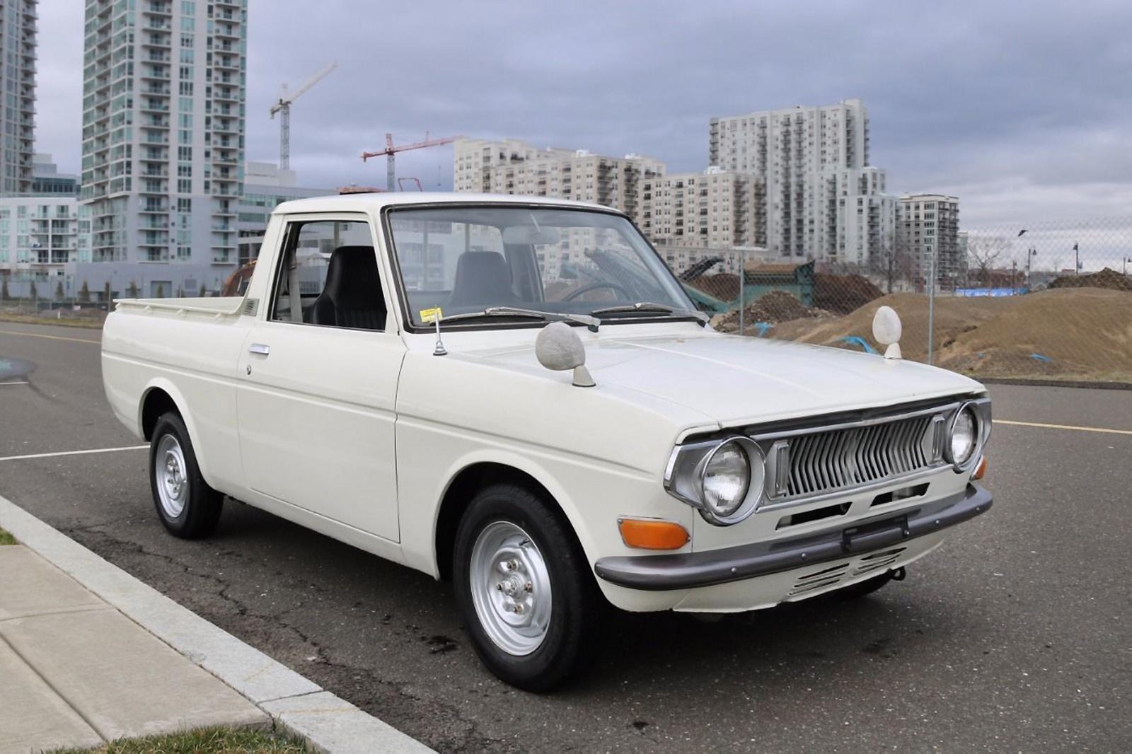 Publica Pickup 1971 Toyota 1000 Pickup