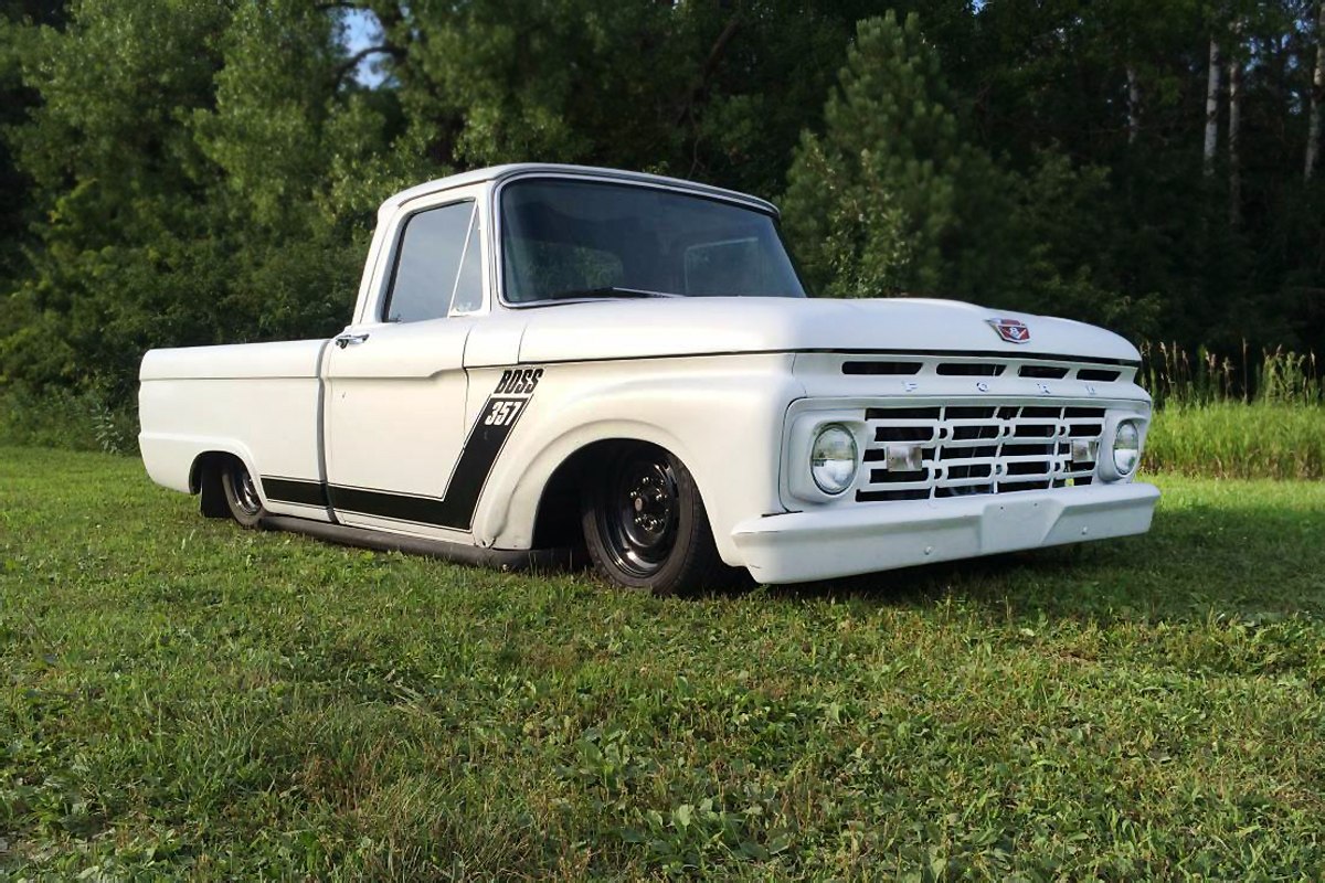 bagged and dragged 1964 ford f 100. Black Bedroom Furniture Sets. Home Design Ideas