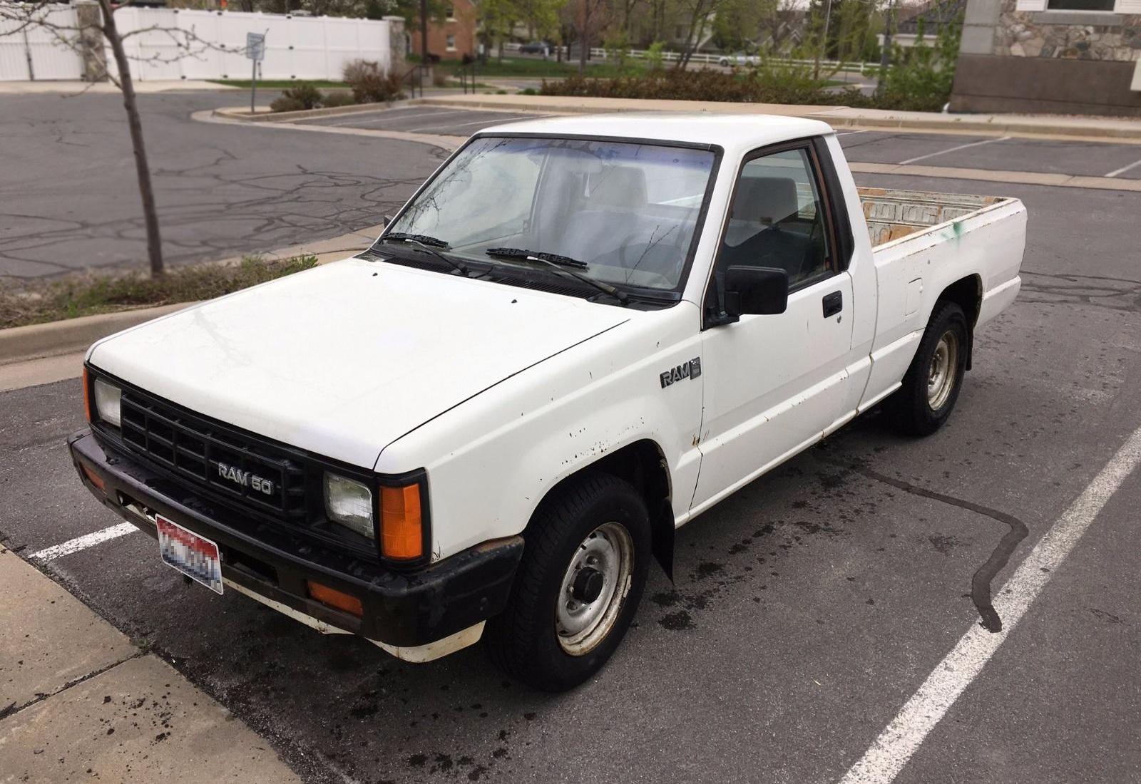 New Ram Truck >> Big Fan - Small Truck: 1987 Dodge Ram 50