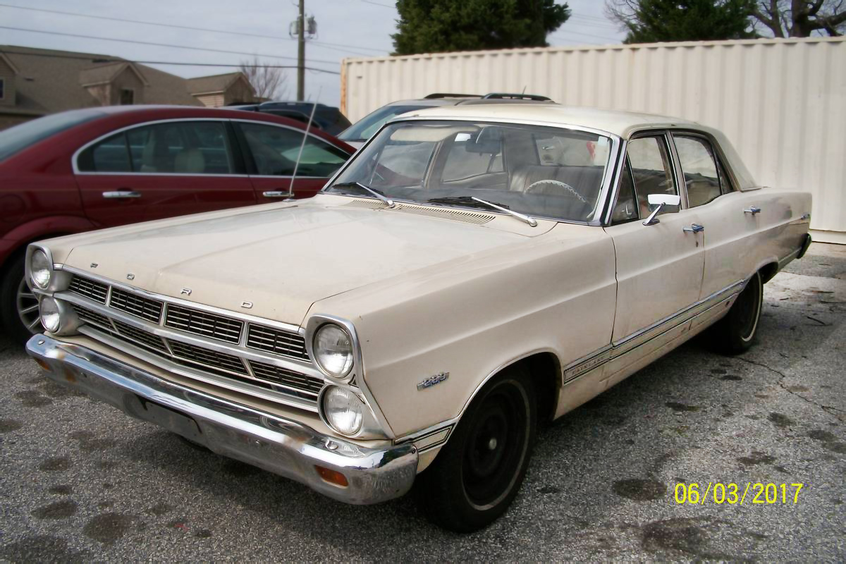 This Bill Gannon Approved Car Is A 1967 Ford Fairlane 500 And Its On Craigslist In Greenville South Carolina For 4200