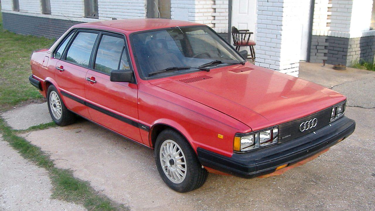 Your Next Winter Car 1984 Audi 4000 S Quattro