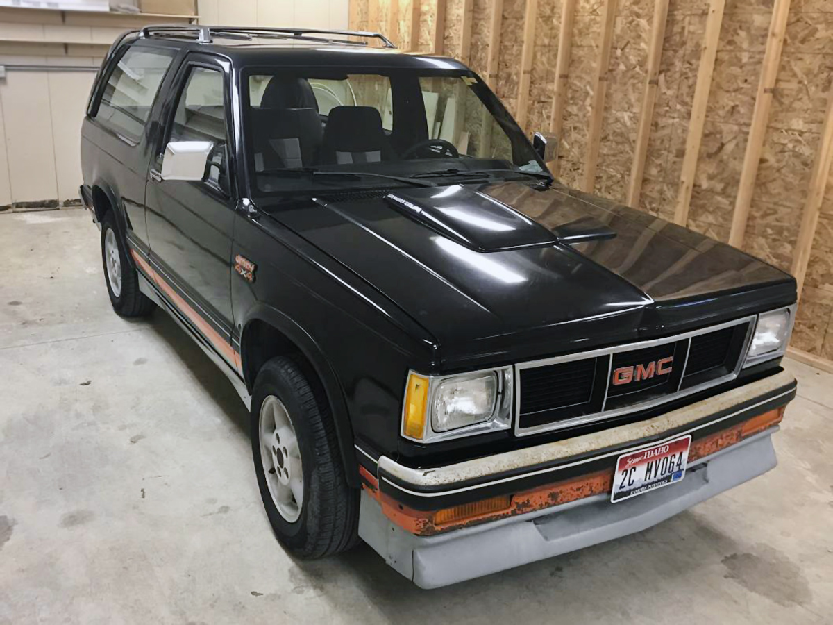Gmc Jimmy For Sale >> Rare Beast: 1984 GMC Jimmy Street Coupe