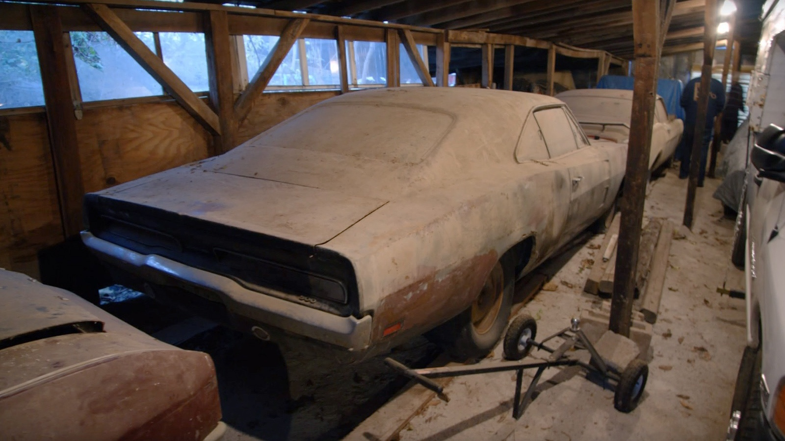 Dusty Muscle: A Barn Full of Iconic Treasures!