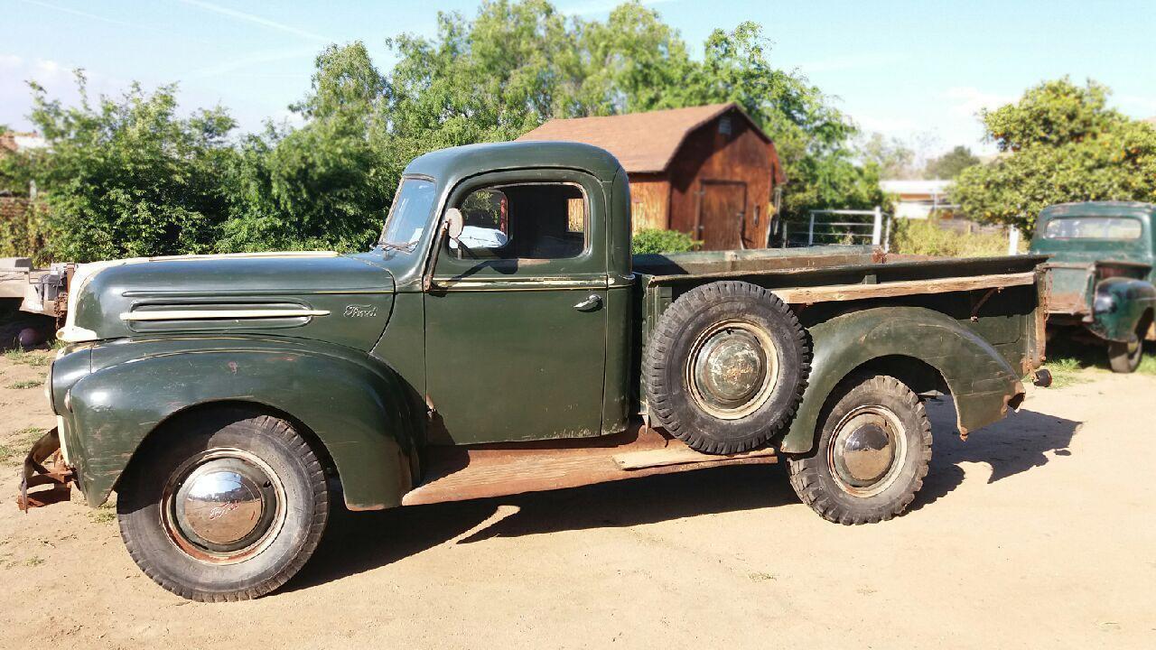 barn fresh 1946 ford pickup. Black Bedroom Furniture Sets. Home Design Ideas