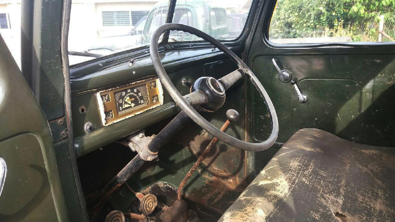 Barn Fresh! 1946 Ford Pickup