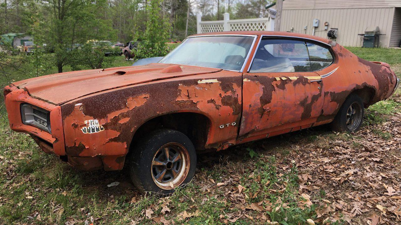Rusty Muscle: 1969 Pontiac GTO Judge