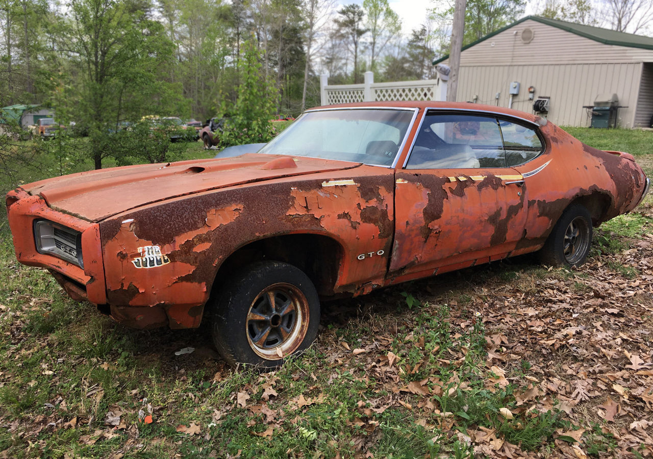 Rusty Muscle: 1969 Pontiac GTO Judge