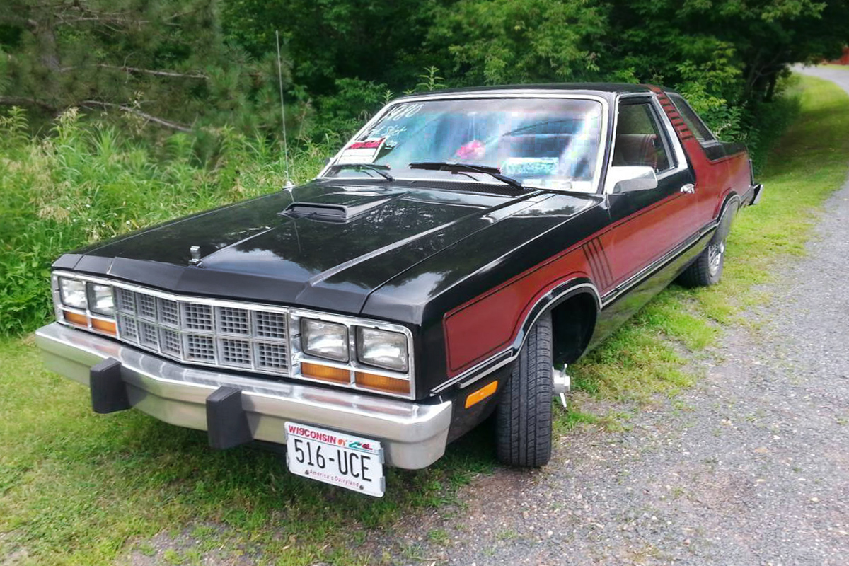 The fairmont was made for the 1978 to 1983 model years and by 1983 the lone model was the two door futura is that a red back seat and a white or tan