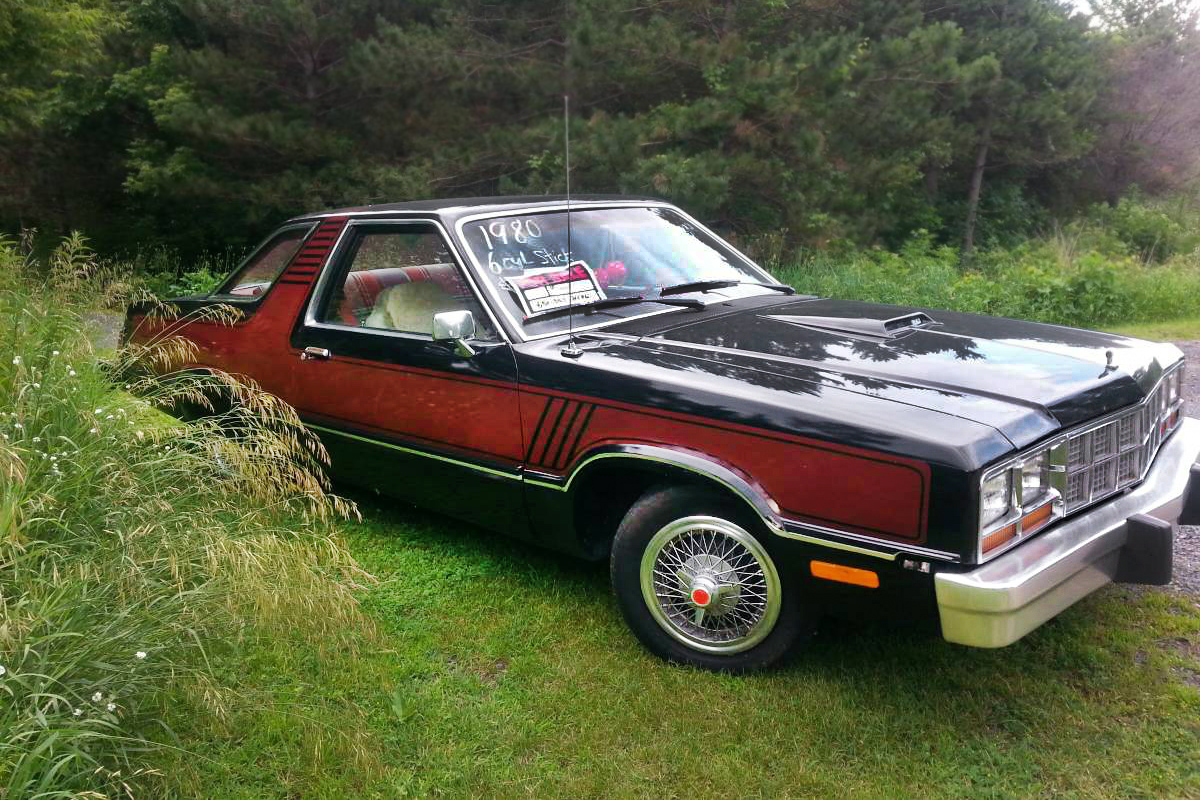Futura Shock 1980 Ford Fairmont Custom Interior This Creation Is A And Its Interesting To Say The Least Here On Craigslist In New Richmond Wisconsin With An Asking
