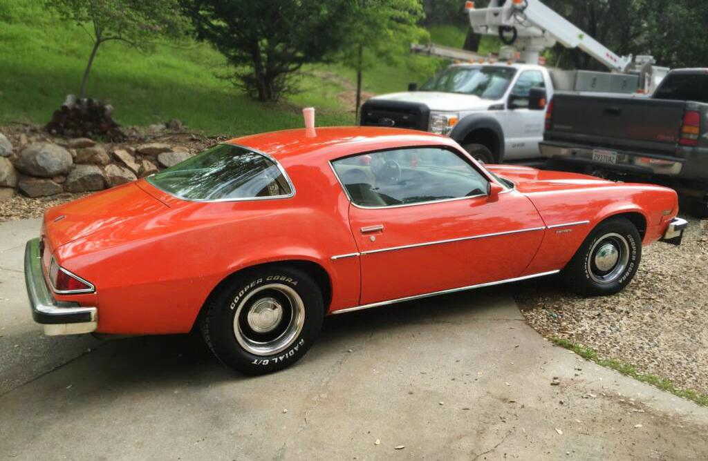 Hagerty Car Value >> Orange Peeler: 1976 Chevrolet Camaro