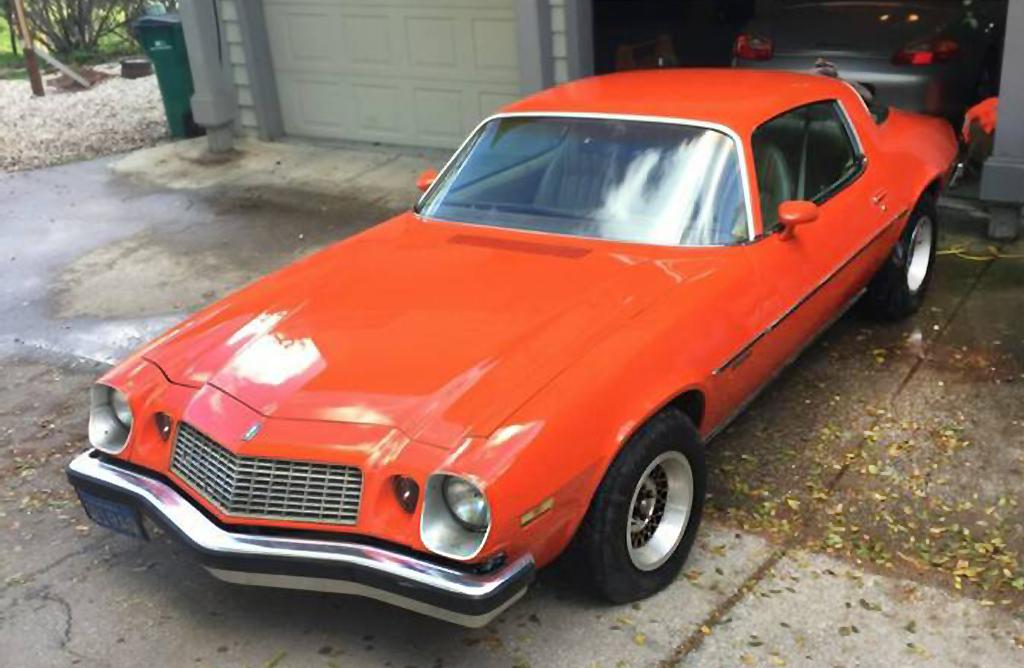 Orange Peeler  1976 Chevrolet Camaro