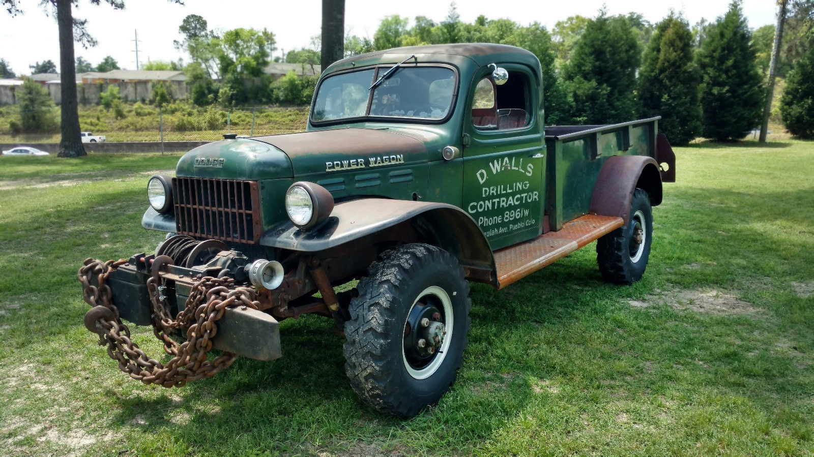 78 Dodge Power Wagon For Sale >> Chains Not Included: 1949 Dodge Power Wagon