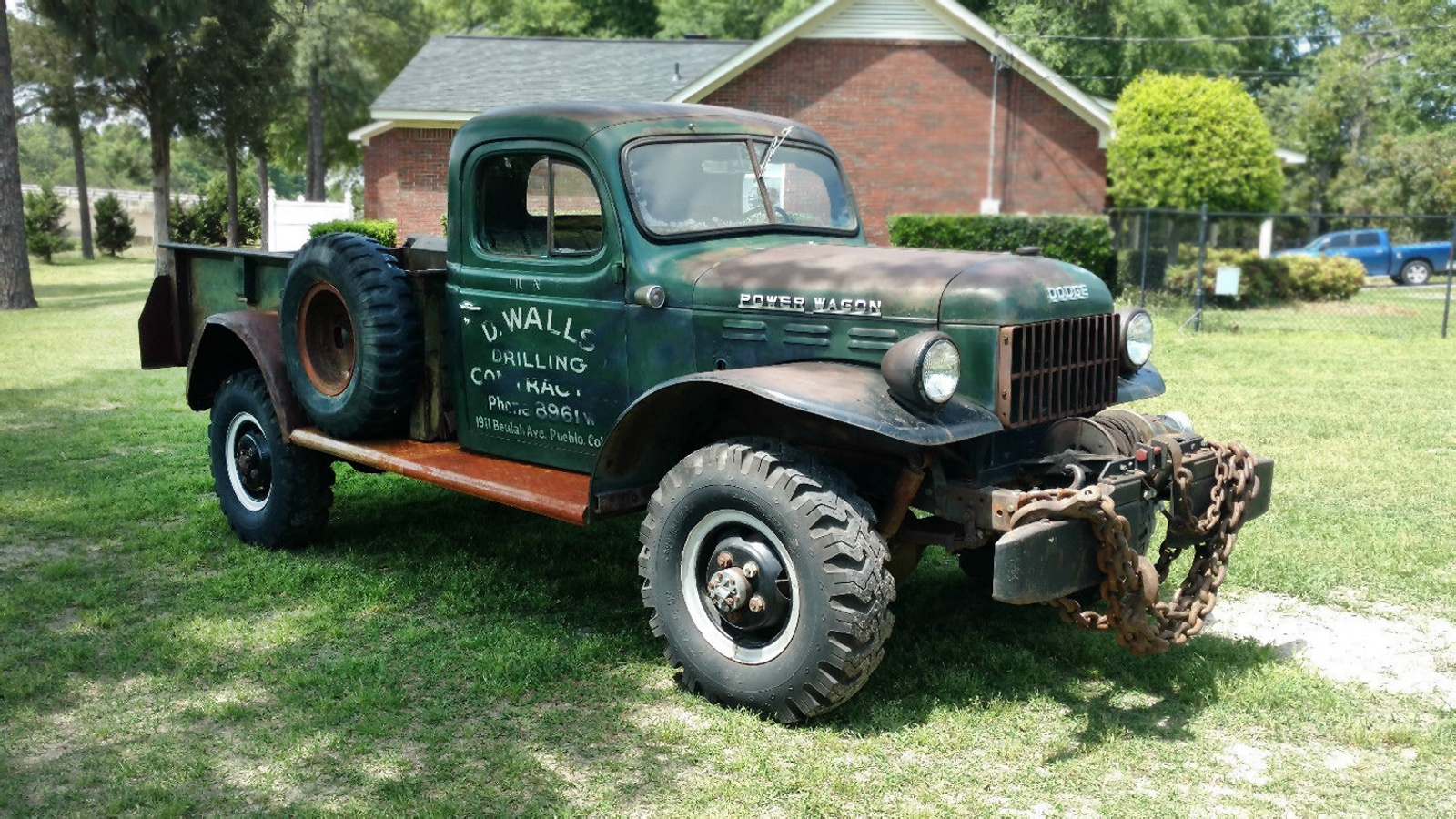 Dodge Power Wagon For Sale >> Chains Not Included: 1949 Dodge Power Wagon