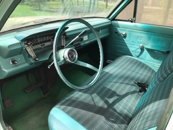 Dusty gold 1963 amc rambler classic 550 for American classic interior