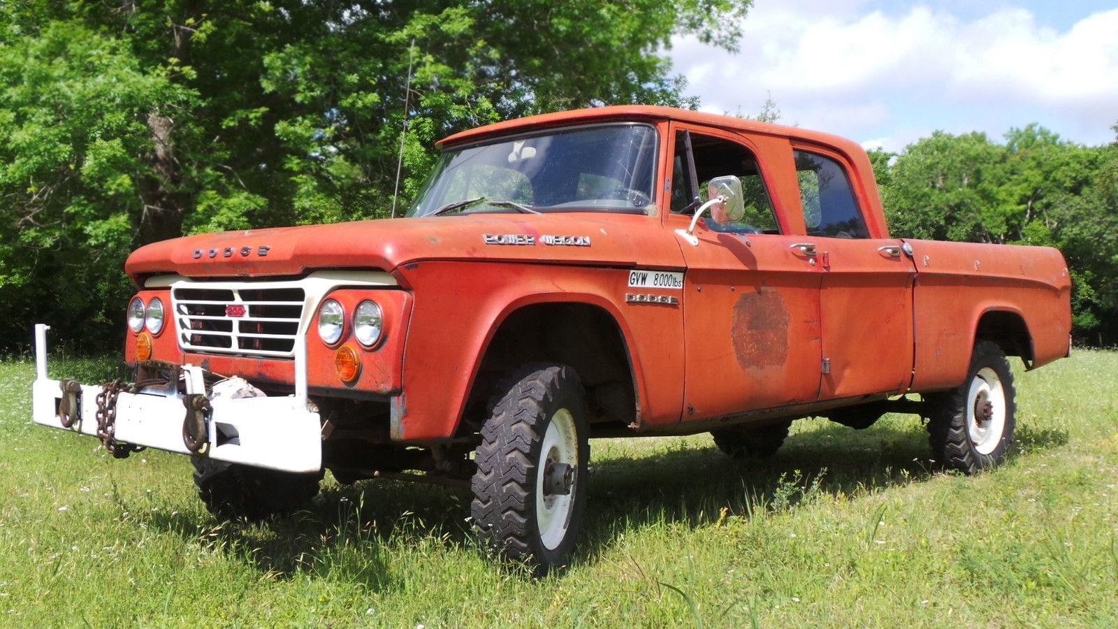 Tough Crew Cab 1963 Dodge Power Wagon