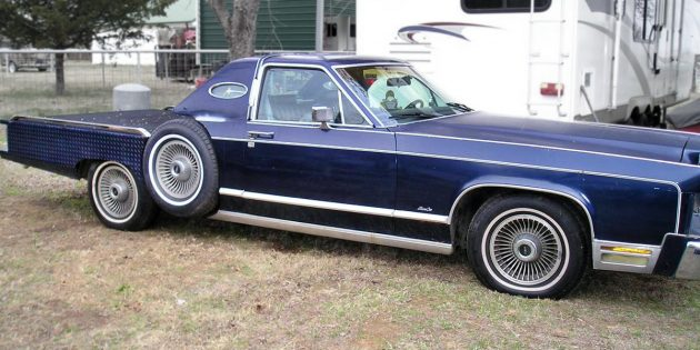 Funky Flatbed: 1977 Lincoln Town Car Flatbed