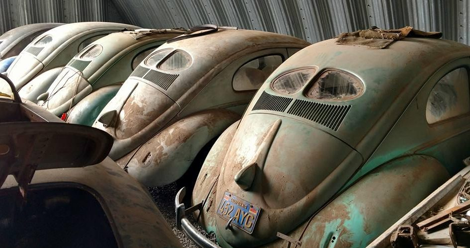 Holy Grail VW Find: Split Window Beetle Collection & More!