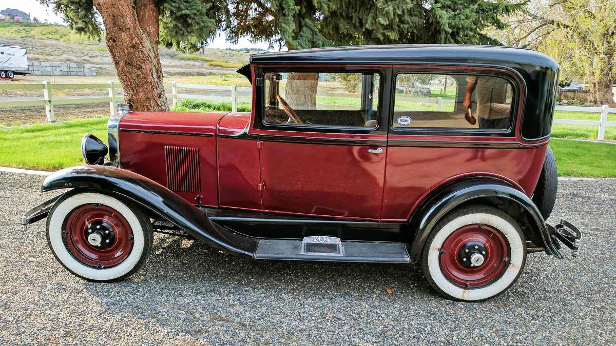 Looking Nice: 1930 Chevy AD Universal