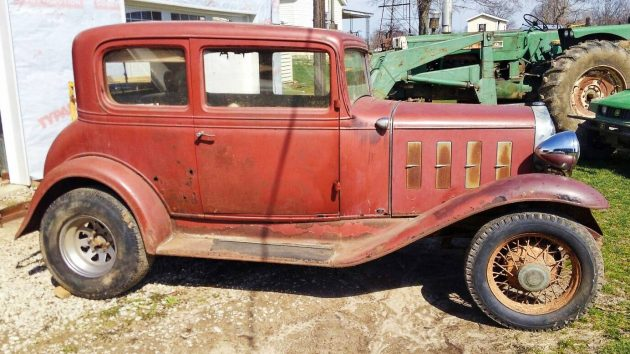 Rolled out of the barn 1932 chevrolet victoria coupe for 1932 chevy 4 door sedan