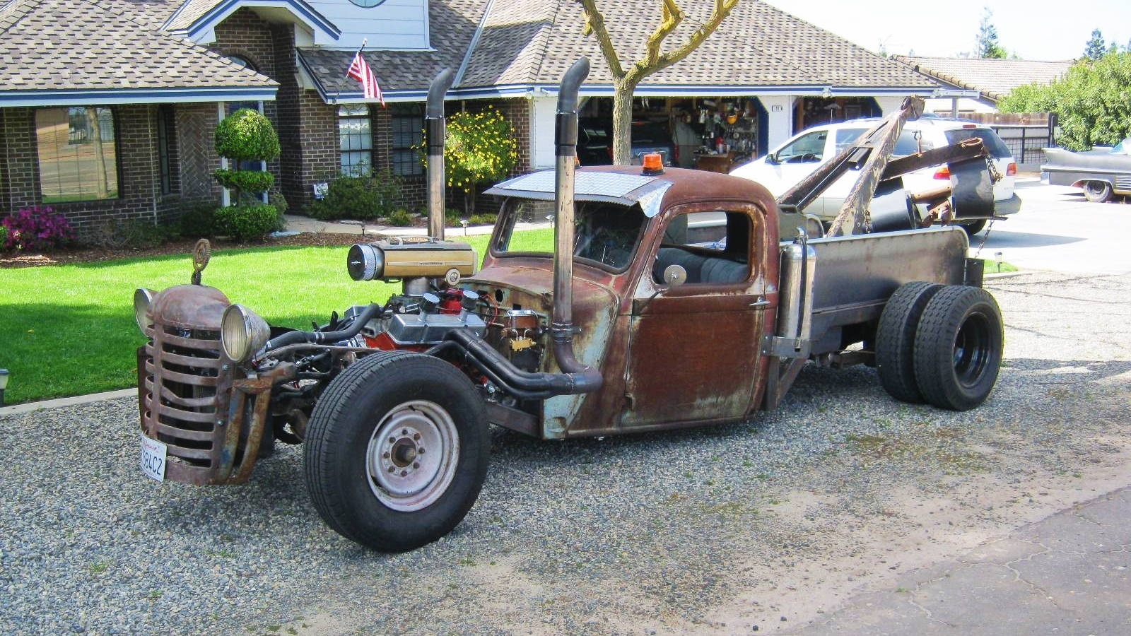 1934 Dodge Hot Rod Tow Truck