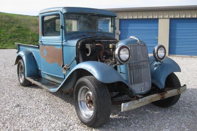 Parked 46 Years: 1934 Ford Truck Hot Rod