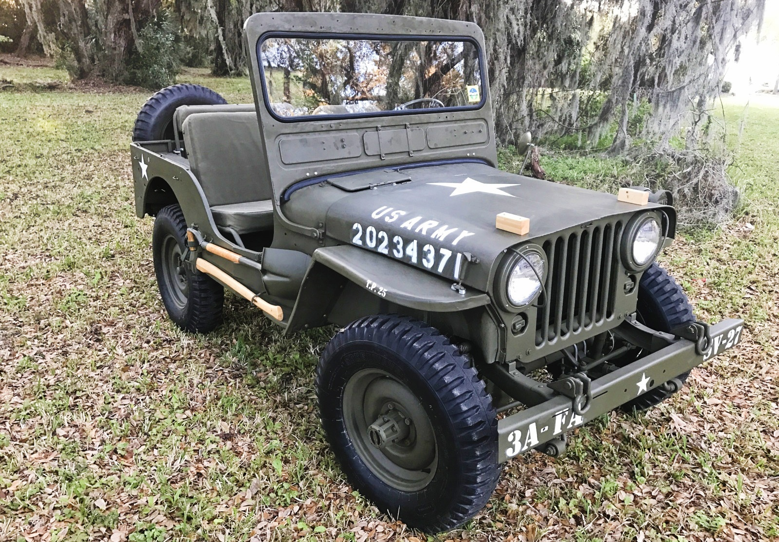 Willys Jeep Sale >> EXCLUSIVE: Nathan's 1948 Willys M38
