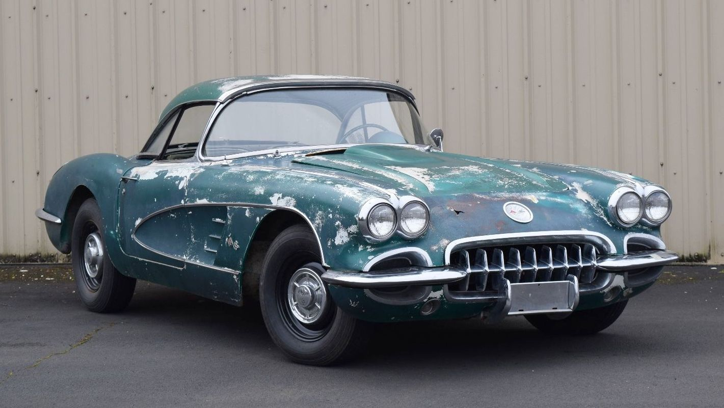 Seattle Car Auction >> Crazy Cool 1959 Corvette Convertible