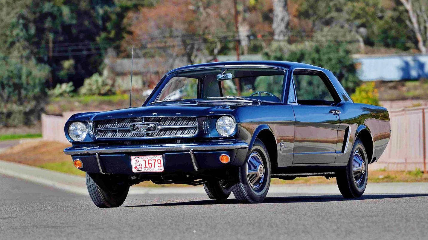 The Most Valuable 1965 Mustang Hardtop Ever