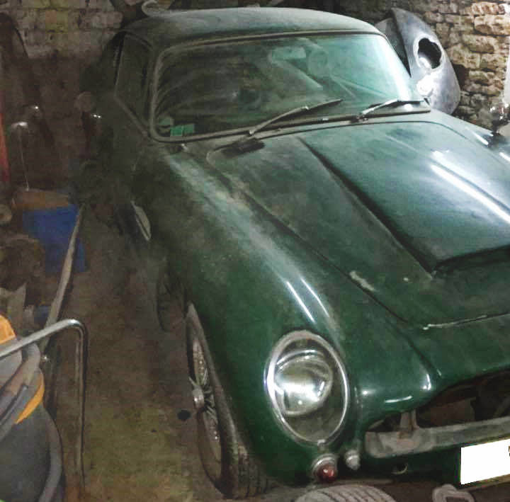 Stalled Restoration: 1966 Aston Martin DB6